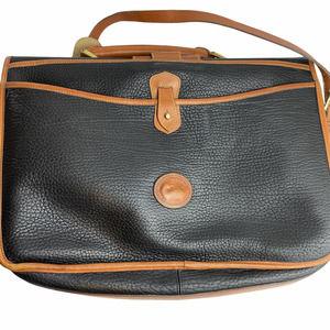 Vintage Dooney & Bourke Flap Top Briefcase